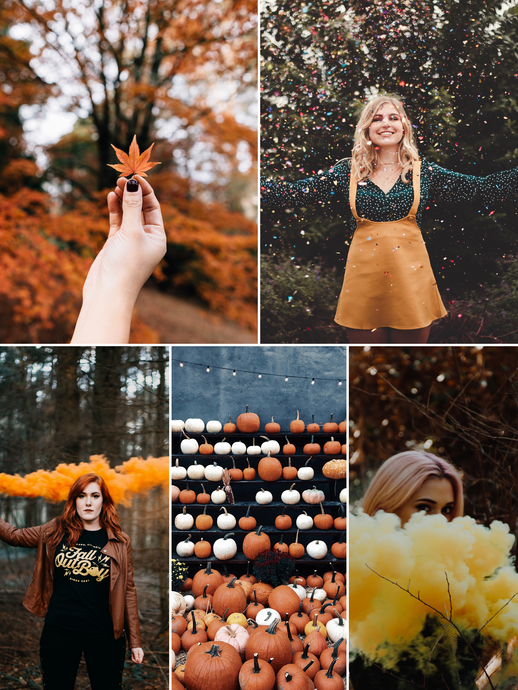 5 Smoke Bomb Photography Ideas for Fall Inspired Shoots