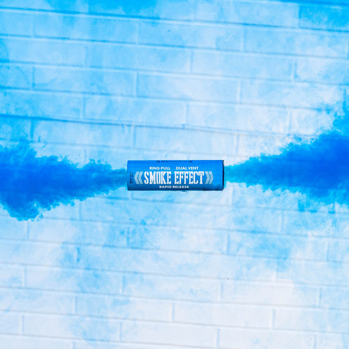 Dual Vent Ring Pull Smoke Grenade - Rapid Release [Blue]