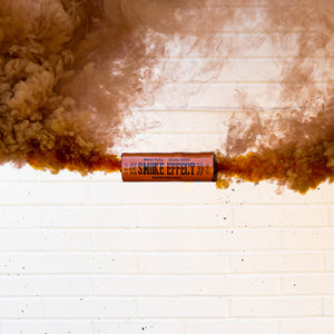 Dual Vent Ring Pull Smoke Grenade - Rapid Release [Brown]