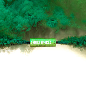 Dual Vent Ring Pull Smoke Grenade - Rapid Release [Green]