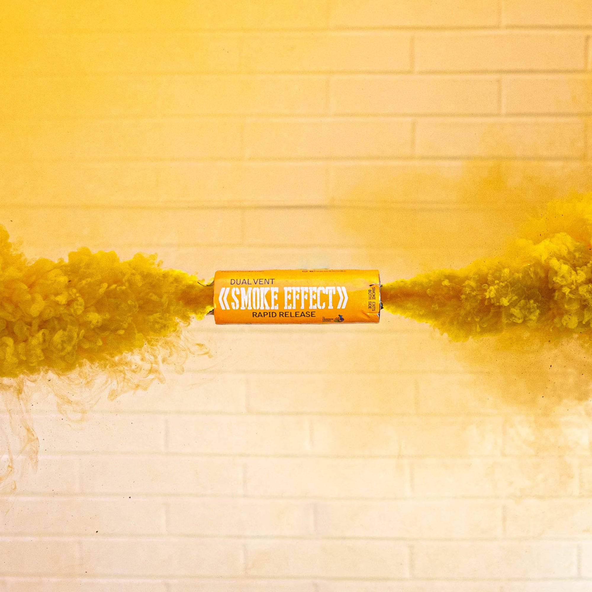 Dual Vent Ring Pull Smoke Grenade - Rapid Release [Orange]