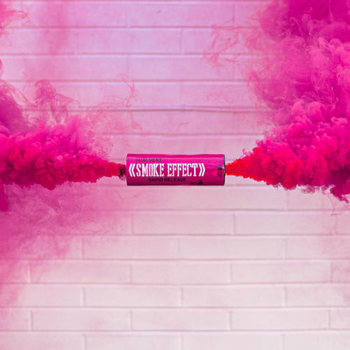 Dual Vent Ring Pull Smoke Grenade - Rapid Release [Pink]