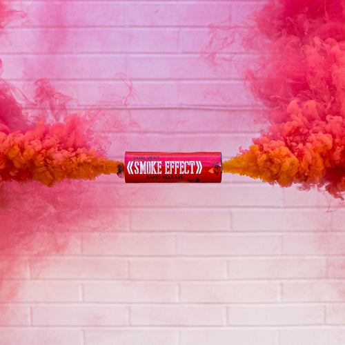 Dual Vent Ring Pull Smoke Grenade - Rapid Release [Red]