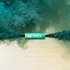 Dual Vent Ring Pull Smoke Grenade - Rapid Release [Teal]