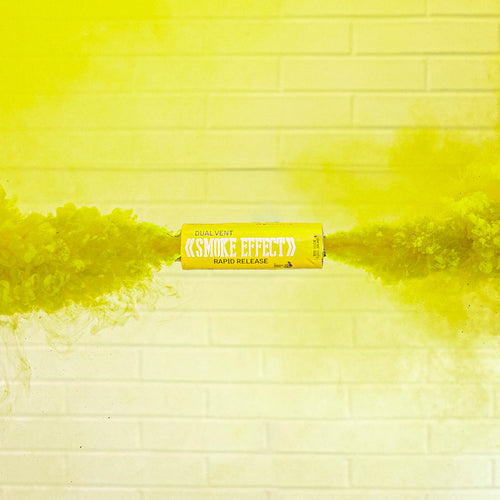 Dual Vent Ring Pull Smoke Grenade - Rapid Release [Yellow]