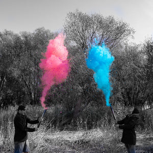 "24"" Gender Reveal Party Cannon - Powder + Confetti"