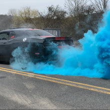 Load image into Gallery viewer, blue gender reveal burnout tire kit bag