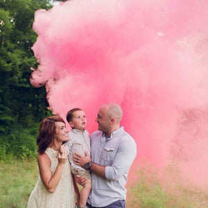 Gender Reveal Smoke Effect Sticks (Discreet Label)