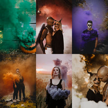 Load image into Gallery viewer, Halloween Smoke Bombs [6 Pack] Pull Ring Smoke Grenades