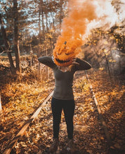 Load image into Gallery viewer, Wire Ring Pull Smoke Grenade (90 Sec) Color Bomb Smoke Effect [Orange]