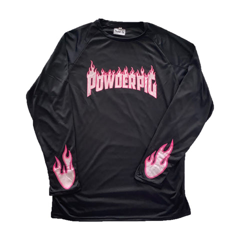 Flames Long Sleeve Tee