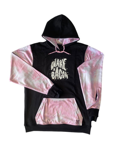 Wake n Bacon Hood Pink