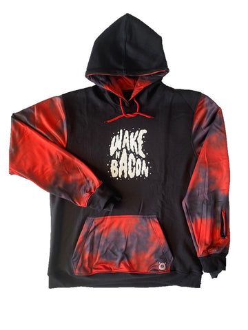 Wake n Bacon Hood Red