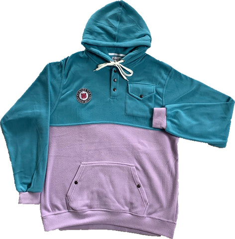 Tech Fleece Hood Blue/Purple