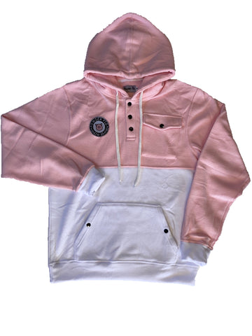 Tech Fleece Hood Pink/White