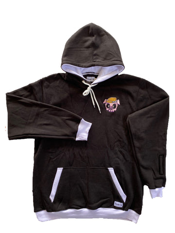The Rockies Hood Black