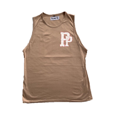 Powder Pig Pittsburgh Pirates Singlet Beige