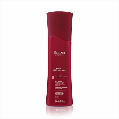 Amend champú color cabellos rojos red revival 250 ml - AMEND COSMÉTICOS