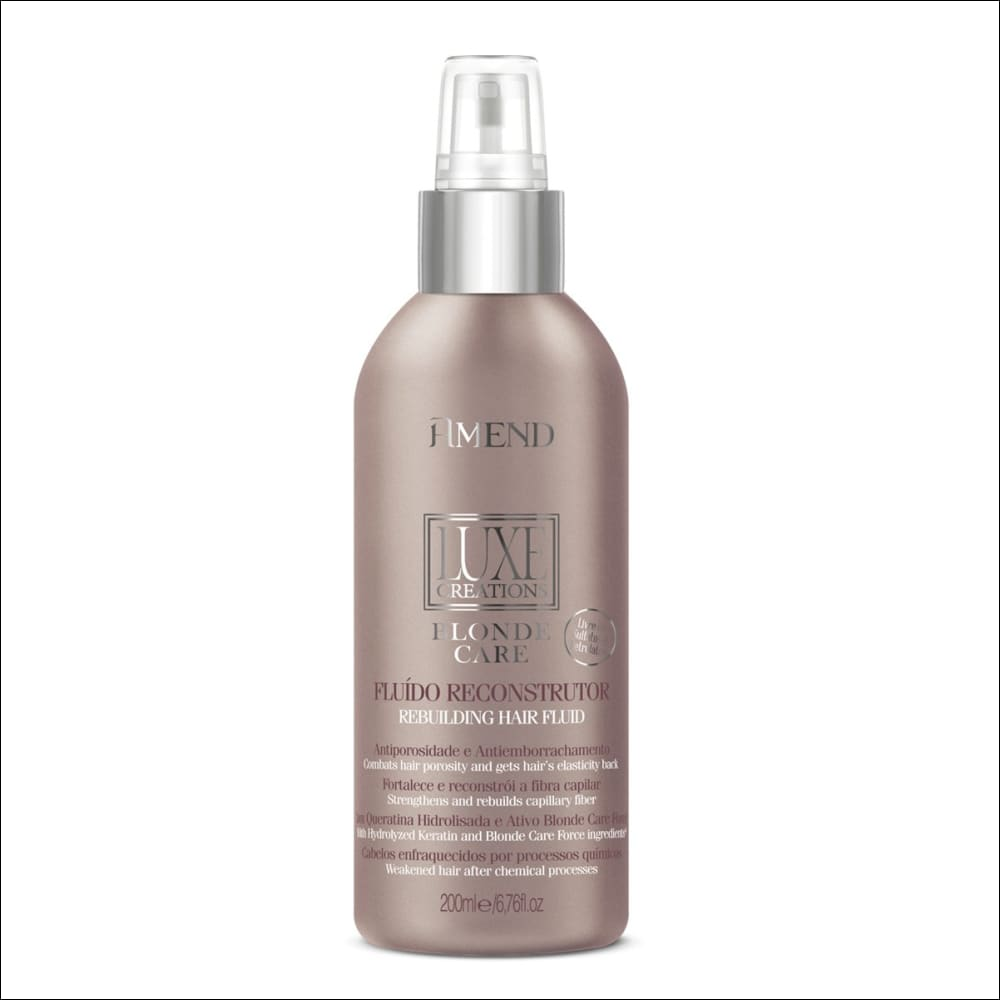 Amend Luxe Creations Blonde Care Fluido Reconstructor 100 ml - jazz pelu