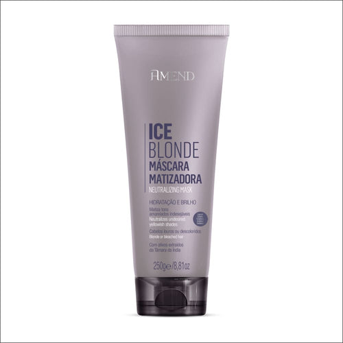 Amend Mascarilla Matizadora Ice Blonde 250 g - jazz pelu