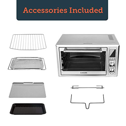 COSORI Toaster Oven Air Fryer, 12-in-1 Convection Countertop Oven