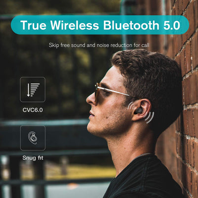 QCY 5.0 Bluetooth Wireless Earphone - Wish Tricks