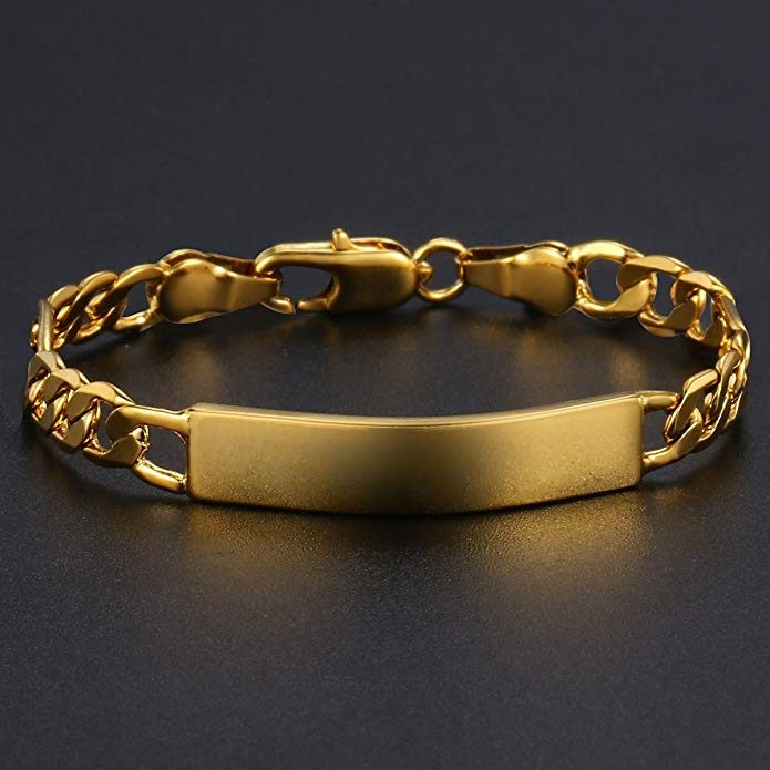 Custom Gold Filled Figaro Baby Bracelet - Wish Tricks
