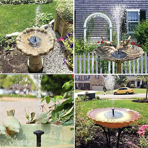 Solar-Powered Fountain Kit for your garden! - Wish Tricks