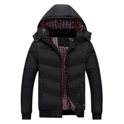Warm Detachable Hooded Parka Winter/ Fall Jacket - Wish Tricks