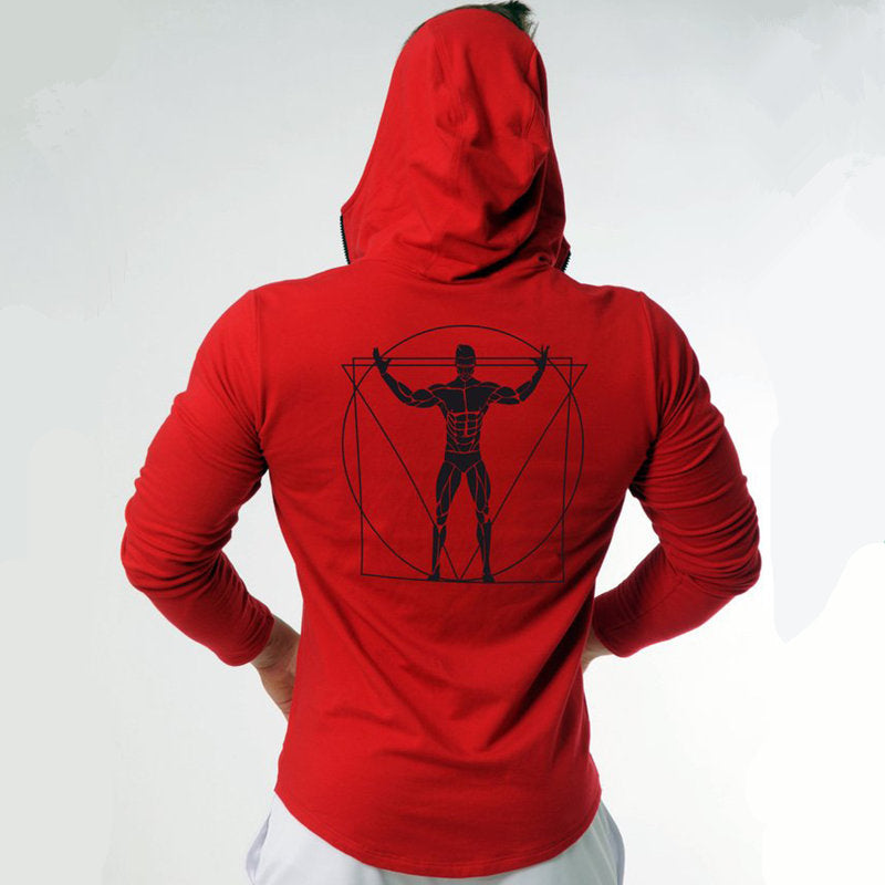 Maki Men Zipper Hoodie/Sweatshirt - Wish Tricks