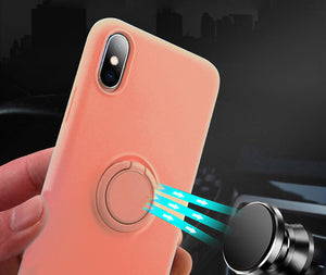 iPhone Popsocket Car Holder Silicon Case - Wish Tricks