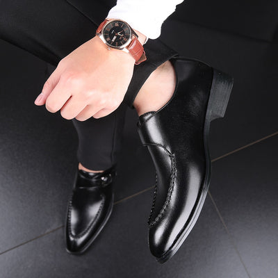 Genuine Leather Italian Men Dress Shoes - Wish Tricks