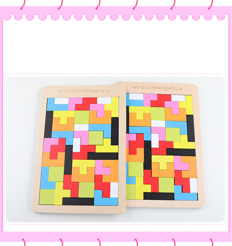 Mazo Tetris Kids Puzzle - Wish Tricks