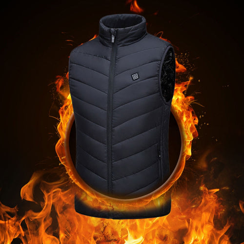 Smart Heated Winter Jacket Vest - Wish Tricks
