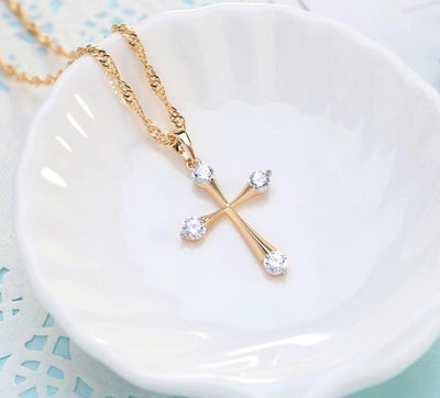My Lady Cubic Zirconia Necklace - Wish Tricks