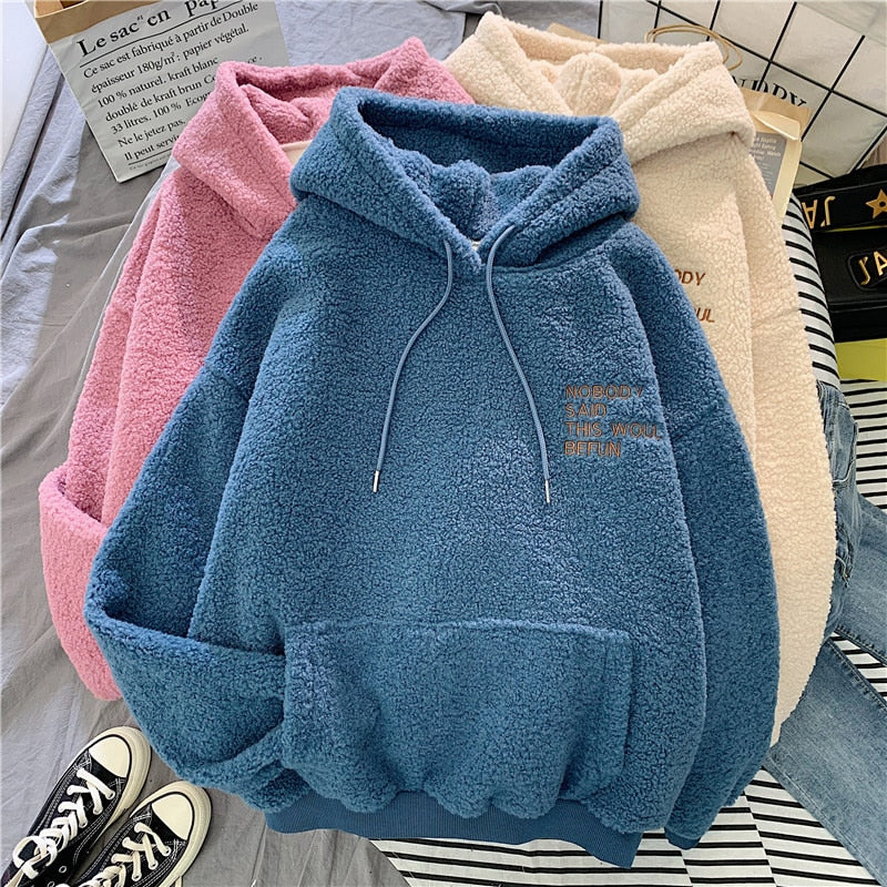 Oversize Positive Vibe Women Sweater