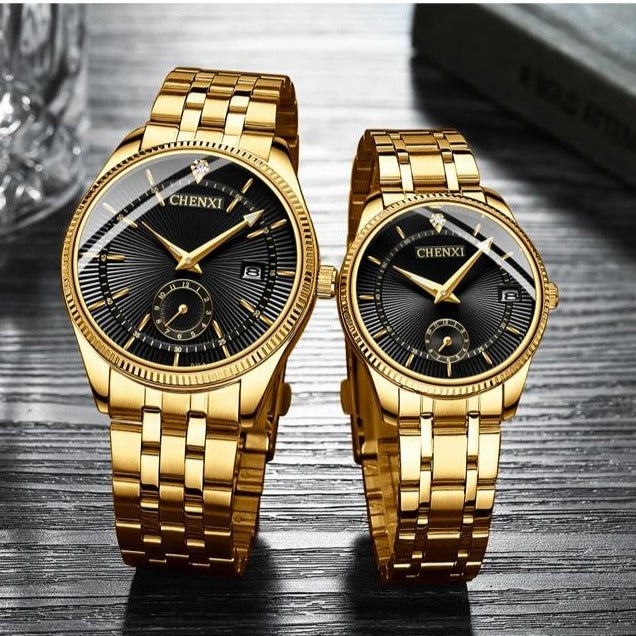 Luxury His & Her Watch