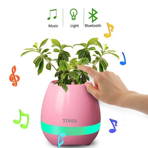 Plastic Music Flower Pot - Wish Tricks