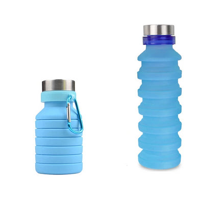 Collapsible Water Bottle | Foldable Water Bottle - Wish Tricks