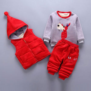Unisex Infant/ Newborn Pull Over Sweatshirt Set - Wish Tricks