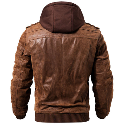 Genuine Leather Jacket - Wish Tricks