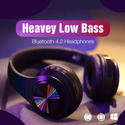 Portable B7 Wireless Bluetooth Headphones - Wish Tricks