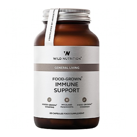 Wild Nutrition Food Grown Immune Support (60 caps)