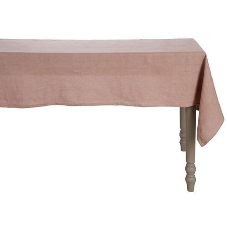Linen Tablecloth - Dusky Pink