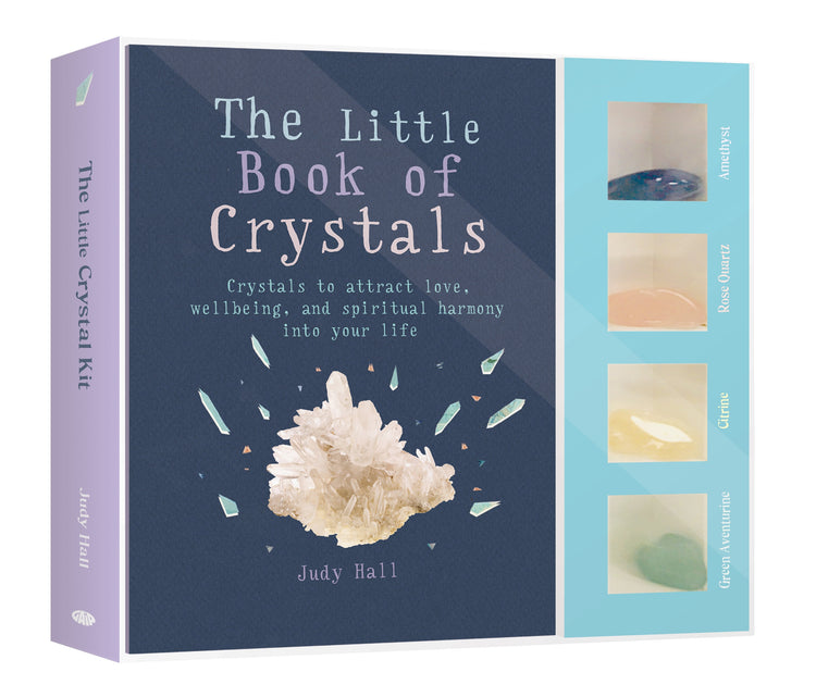 The Little Book of Crystals Kit - Judy Hall