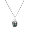 Decadorn Birthstone Pendant (Silver) - May Emerald