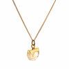Decadorn Birthstone Pendant (Gold & Silver) - November Citrine
