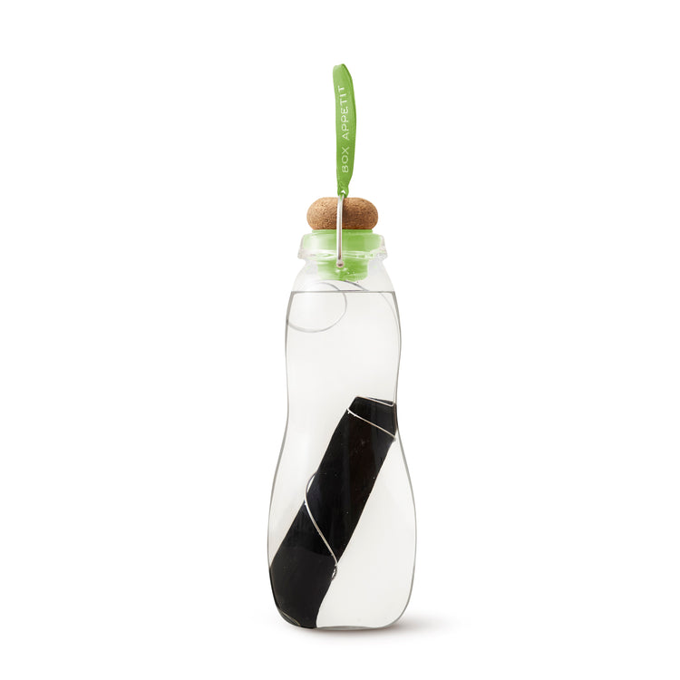 Black and Blum - Eau Good Glass bottle with Charcoal filter - Lime