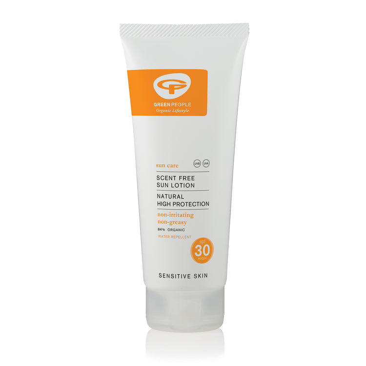 Green People Scent Free Sun Lotion - SPF30 200ml