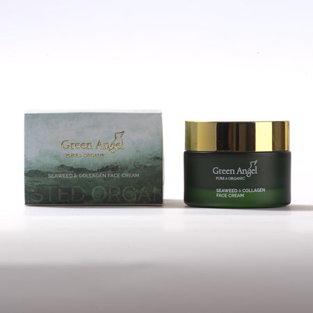Green Angel Face Seaweed and Collagen Cream